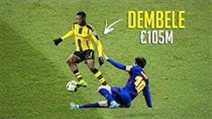 تکنیک ها و دریبل های عثمان دمبله ستاره ی آینده دار بارسلونا