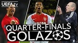 برترین گل های مرحله یک چهارم نهایی لیگ قهرمانان اروپا