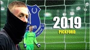 برترین لحظات پیکفورد در دروازه اورتون و تیم ملی انگلیس