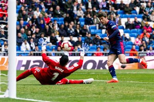 گل اول ایبار به رئال مادرید(کاردونا)