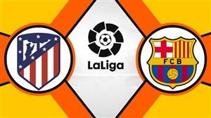 خلاصه بازی بارسلونا 2 - اتلتیکومادرید 0