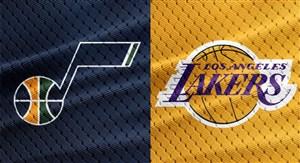 خلاصه بسکتبال لس آنجلس لیکرز - یوتا جاز