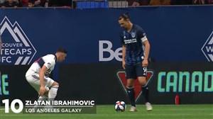10 حرکت برتر هفته ششم لیگ MLS