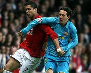 مسی و یک حساب قدیمی با منچستر و لیگ قهرمانان