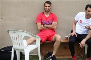 احمد نوراللهی بازی با سایپا را از دست داد