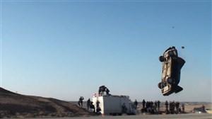 شکستن رکورد چرخش ماشین در هوا توسط ارشا اقدسی