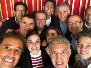 عکس پرحاشیه خبرنگاران کلمبیایی با کی روش