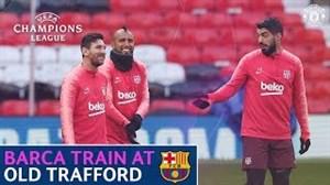 آخرینتمرین بارسلونا قبلاز رویارویی با منچستریونایتد