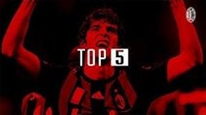 5 گل برتر آث میلان در برابر لاتزیو