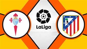 خلاصه بازی اتلتیکو مادرید 2 - سلتاویگو 0
