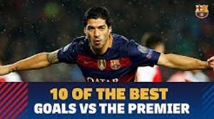 10 گل دیدنی بارسلونا به تیم های انگلیسی
