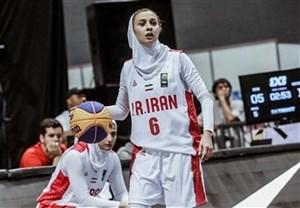 جام باشگاههای بسکتبال غرب آسیا پیروزی تیم بسکتبال بانوان بهمن برابر نماینده سوریه