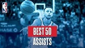 50 پاس گل برتر بسکتبال NBA در سال 2019