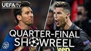 گلهای برتر مسی و رونالدو در لیگ قهرمانان اروپا