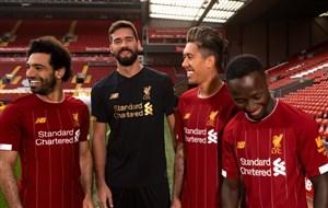 رونمایی از پیراهن جدید لیورپول برای فصل 20-2019