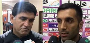 صحبتهای فلاحزادهوغلامپور راجعبه تغییرعجیب گلرهابرابر سپاهان