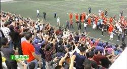 شادی سیرجانی ها از صعود آرمان گهر به لیگ دسته 1
