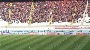ورود اخباری به ورزشگاه یادگار امام