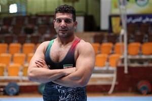 پیروزی یداله محبی در وزن 125 کیلوگرم برابر نماینده مغولستان