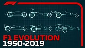 سیر تکاملی ماشین های فرمول 1 از گذشته تا به امروز