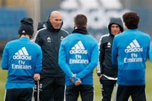 تمرین امروز تیم رئال مادرید (31-01-98)