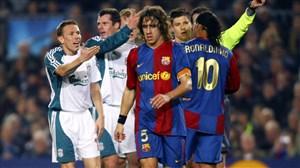 تقابل های لیورپول و بارسلونا در لیگ قهرمانان اروپا