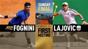 خلاصه تنیس دوسان لایوویچ - فابیو فونینی (فینال مونته کارلو)