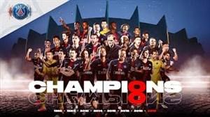 کلیپ رسمی پاریسیها بهمناسبت هشتمین قهرمانی در لوشامپیونه