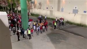 وضعیت هواداران برای ورود به استادیوم  و ادامهکارشکنیها