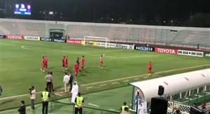 تشویق بازیکنان پرسپولیس علی رغم شکست برابر الاهلی