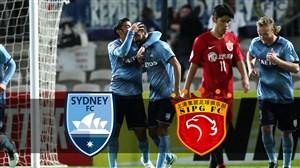 خلاصه بازی شانگهای 2 - اف سی سیدنی 2