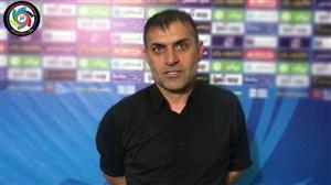 مصاحبه اختصاصی با عبدالله ویسی; سرمربی موفق شاهین بوشهر
