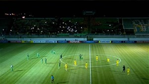 قطعی برق ورزشگاه فولاد شهر در بازی حساس آسیایی