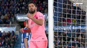 گل دوم بارسلونا به آلاوس ( لوئیس سوارز )