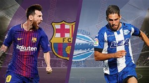 خلاصه بازی آلاوس 0 - بارسلونا 2 (گزارش عباس قانع)