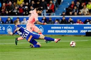 آلاوس 0-2 بارسلونا: عکس آبی و اناریها روی جام
