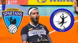 خلاصه والیبال شهرداری ورامین 3 - چنای هند 1
