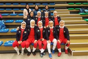 شروع با اقتدار تیم فوتسال بانوان ایران در رقابت های بین دانشگاهی