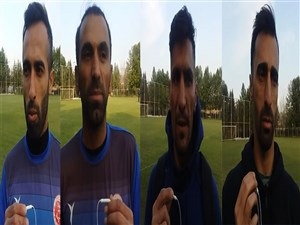 صحبتهای بازیکنان پدیده قبل از بازی مقابل استقلال تهران