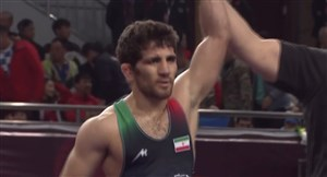 کسب مدال برنز وزن 63کیلوگرم توسط سامان عبدولی