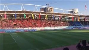 پرشدن 80 درصد ورزشگاه امام رضا 2ساعت قبل از بازی