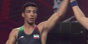 کسب مدال طلا توسط گرایی در فینال وزن 72 کیلو