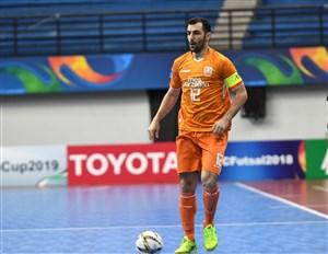 پیش بازی مسابقات یک چهارم نهایی فوتسال لیگ قهرمانان آسیا