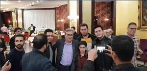 توجه ویژه هواداران پرسپولیس به برانکو در تبریز