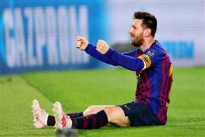سوپر گل مسی؛ گل سوم بارسلونا به لیورپول