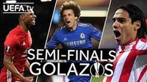 برترین گلهای مرحله نیمه نهایی یورو لیگ
