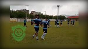 تمرین تیم ماشین سازی در اصفهان