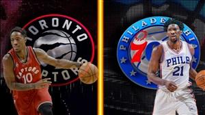 خلاصه بسکتبال فیلادلفیا سیکسرز - تورنتو رپترز (بازی سوم)
