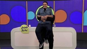 بغل کردن مجری تلویزیونی توسط علی داوودی،قهرمان جهان