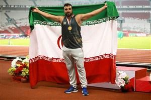 کسب سهمیه المپیک توسط احسان حدادی